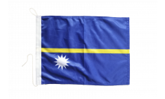 Drapeau pour bateau Nauru - 30 x 40 cm