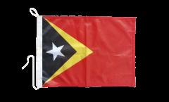 Drapeau pour bateau Timor oriental - 30 x 40 cm