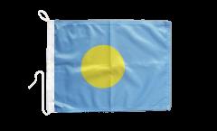 Drapeau pour bateau République des Palaos - 30 x 40 cm