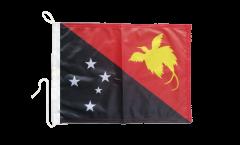 Drapeau pour bateau Papouasie-Nouvelle-Guinée - 30 x 40 cm