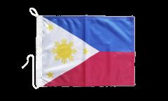 Drapeau pour bateau Philippines - 30 x 40 cm