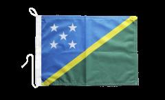 Drapeau pour bateau Îles Salomon - 30 x 40 cm