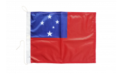 Drapeau pour bateau Samoa - 30 x 40 cm