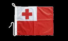 Drapeau pour bateau Tonga - 30 x 40 cm