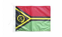 Drapeau pour bateau Vanuatu - 30 x 40 cm
