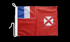 Drapeau pour bateau Wallis-et-Futuna - 30 x 40 cm