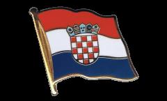 Pin's (épinglette) Drapeau Croatie - 2 x 2 cm
