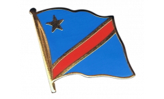 Pin's (épinglette) Drapeau République démocratique du Congo - 2 x 2 cm