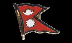 Pin's (épinglette) Drapeau Népal - 2 x 2 cm