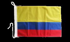 Drapeau pour bateau Colombie - 30 x 40 cm