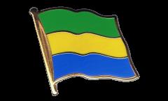 Pin's (épinglette) Drapeau Gabon - 2 x 2 cm
