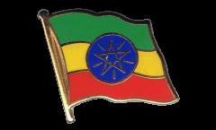 Pin's (épinglette) Drapeau Ethiopie - 2 x 2 cm