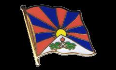 Pin's (épinglette) Drapeau Tibet - 2 x 2 cm