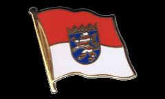 Pin's (épinglette) Drapeau Allemagne Hesse - 2 x 2 cm