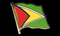 Pin's (épinglette) Drapeau Guyana - 2 x 2 cm