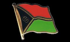 Pin's (épinglette) Drapeau Vanuatu - 2 x 2 cm
