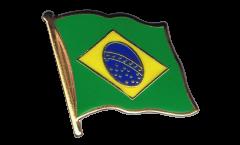 Pin's (épinglette) Drapeau Brésil - 2 x 2 cm