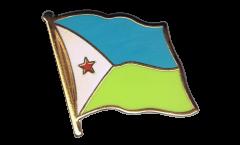Pin's (épinglette) Drapeau Djibouti - 2 x 2 cm