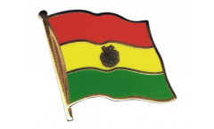 Pin's (épinglette) Drapeau Bolivie - 2 x 2 cm