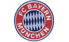 Écusson brodé FC Bayern München Emblem - 8 x 8 cm
