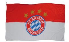 Drapeau FC Bayern München Logo - 150 x 250 cm