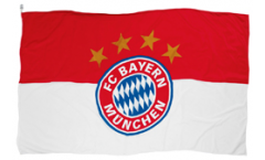 Drapeau FC Bayern München Logo - 60 x 90 cm