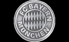 Pin`s (épinglette) FC Bayern München Emblem Argent - 1.5 x 1.5 cm