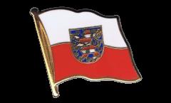 Pin's (épinglette) Drapeau Allemagne Thuringe - 2 x 2 cm