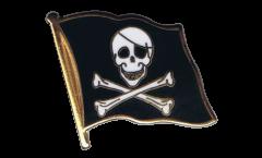Pin's (épinglette) Drapeau Pirate - 2 x 2 cm
