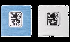Serre-poignet / bracelet éponge tennis TSV 1860 München, pack de 2 - 8 x 9 cm