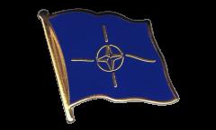 Pin's (épinglette) Drapeau OTAN - 2 x 2 cm