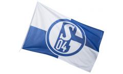 Drapeau FC Schalke 04 Karo - 200 x 300 cm