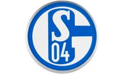 Pin`s (épinglette) FC Schalke 04 Signet - 1.5 x 1.5 cm