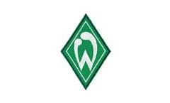 Écusson brodé Werder Bremen Raute  - 7 x 10 cm