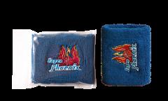 Serre-poignet / bracelet éponge tennis Phoenix Hagen blau, pack de 2 - 8 x 10 cm