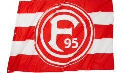 Drapeau Fortuna Düsseldorf Basic - 100 x 150 cm