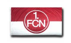 Drapeau 1. FC Nürnberg Logo rouge-blanc - 150 x 250 cm