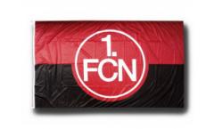 Drapeau 1. FC Nürnberg Logo rouge-noire - 150 x 250 cm