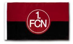 Drapeau 1. FC Nürnberg Logo - 100 x 150 cm