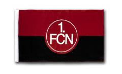 Drapeau 1. FC Nürnberg Logo - 60 x 90 cm