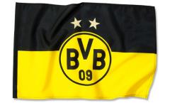Drapeau Borussia Dortmund Logo Étoiles - 100 x 150 cm