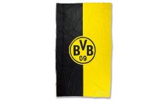 Drapeau Borussia Dortmund Logo Bande - 100 x 200 cm