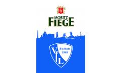 Drapeau VfL Bochum VfL und Fiege - 100 x 150 cm