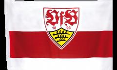 Drapeau VfB Stuttgart Wappen - 80 x 120 cm