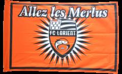Drapeau FC Lorient - 90 x 140 cm
