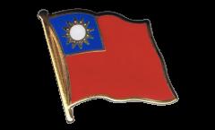 Pin's (épinglette) Drapeau Taiwan - 2 x 2 cm