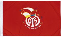 Drapeau 1. FSV Mainz 05 Logo - 80 x 120 cm