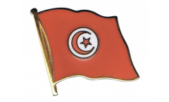 Pin's (épinglette) Drapeau Tunisie - 2 x 2 cm
