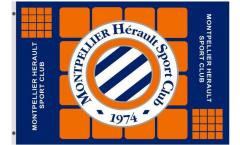 Drapeau HSC Montpellier - 90 x 150 cm