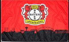 Drapeau Bayer 04 Leverkusen - 90 x 150 cm